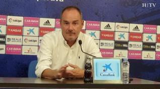 """Víctor Fernández, del Real Zaragoza: """"Tengo una gran confianza en mis jugadores"""""""