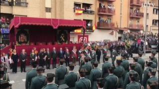 Grande Marlaska preside el desfile de la Guardia Civil en Huesca