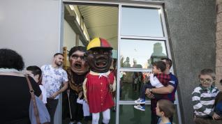 Fotos de los Gigantes y Cabezudos en las Fiestas del Pilar 2019 en Zaragoza