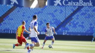 Real Zaragoza-Korona Kielce de la Youth League, en La Romareda.