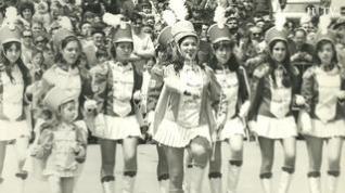 50 años del debut de las 'majorettes' en Zaragoza