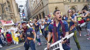 Maratón de charangas en Zaragoza