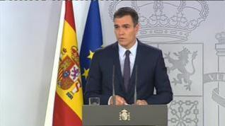 """Pedro Sánchez: """"El acatamiento significa su íntegro cumplimiento"""""""