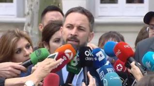 """Santiago Abascal: """"Es una sentencia al gusto de Sánchez"""""""