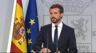 """Casado: """"La imprevisión ha sobrepasado a Pedro Sánchez"""""""