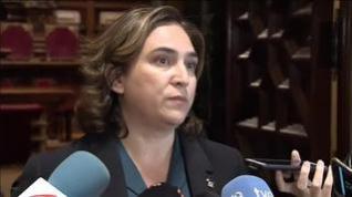 Ada Colau acusa a Torra de no explicar cómo hay que afrontar la situación en Cataluña