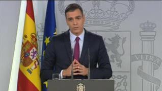 "Sánchez aboga por actuar con ""moderación"" y ""firmeza"" en Cataluña"