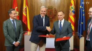 El Real Zaragoza y el Ayuntamiento zaragozano dan el primer paso para la nueva Romareda