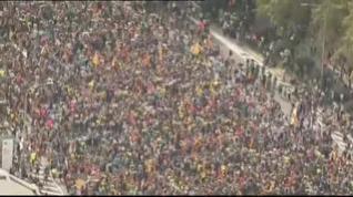 Las 'Marchas por la Libertad' llegan a Barcelona