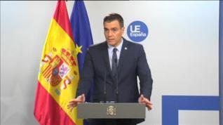 """Sánchez: """"No habrá espacio para la impunidad ante los hechos vandálicos"""""""