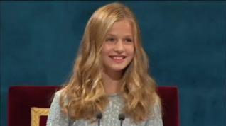 La Princesa de Asturias brilla en su debut