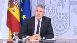 """Grande-Marlaska: """"Aplicaremos el Código Penal"""""""