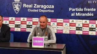 """Víctor Fernández: """"El Real Zaragoza tiene que volver a ganar en La Romareda"""""""