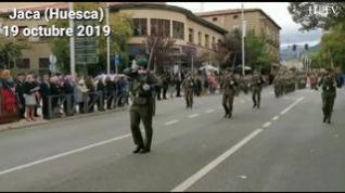 El Regimiento Galicia cierra la celebración de su centenario en Jaca