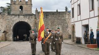 Jura de bandera en Jaca.