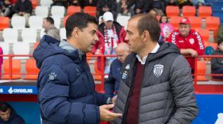 La SD Huesca no consigue remontar en Lugo.