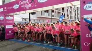 La marea rosa inunda en Zaragoza con récord de participación