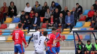 Fútbol. Tercera División- Tarazona vs. Villanueva.