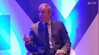 """Jorge Azcón: """"Zaragoza puede convertirse en la primera ciudad europea en generar energía en su territorio"""""""