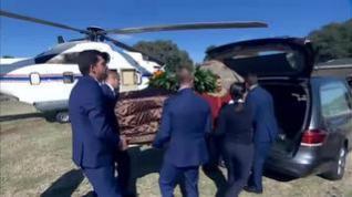 Los restos de Franco llegan al cementerio de Mingorrubio