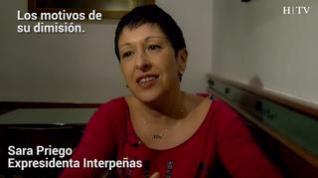 """Sara Priego: """"No lo dejo por la carpa sino por una constante lucha interna"""""""