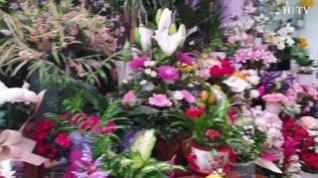¿Cuál es el viaje de las flores hasta que llegan al cementerio para Todos los Santos?