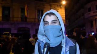 Estas son las razones de las protestas en Cataluña explicadas por encapuchados independentistas