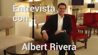"""Albert Rivera: """"Quiero una España que escuche menos a Torra y más al que vive en un pueblo de Teruel"""""""