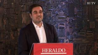 Minuto de oro de Rodrigo Gómez, candidato de Ciudadanos al Congreso por Zaragoza