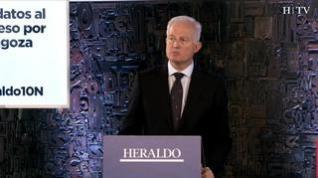 Minuto de oro de Eloy Suárez, candidato del PP al Congreso por Zaragoza
