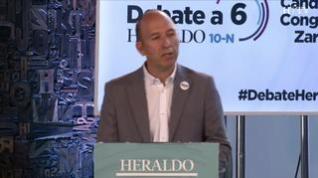 Minuto de oro de Carmelo Asensio, candidato de Más País-CHA-Equo al Congreso por Zaragoza