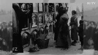 Así se celebraba Todos los Santos en el cementerio hace un siglo