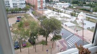 Activada la alerta por fuerte viento en todo Aragón este domingo