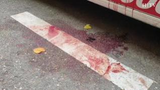 Un hombre apuñala a su pareja en Zaragoza y después se suicida desde una grúa