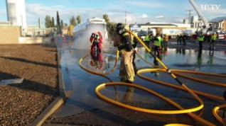 Primer simulacro de fuga de Gas Natural en Zaragoza