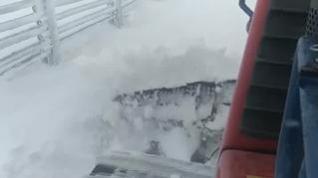 Desplome de temperaturas y primera gran nevada de la temporada