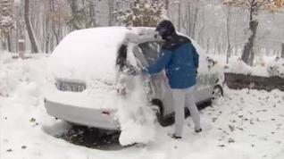 Cae la primera gran nevada