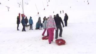 Las fuertes nevadas abren la puerta a un adelanto de la temporada de esquí