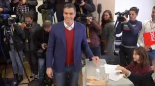 """Sánchez anima a los españoles a """"fortalecer con nuestro voto la democracia"""""""