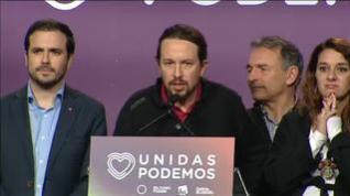"""Iglesias: """"Se duerme peor con más de 50 diputados de VOX que con ministros de Unidas Podemos"""""""
