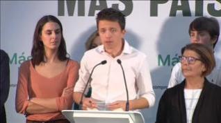 "Errejón: ""No podemos ir a terceras elecciones"""