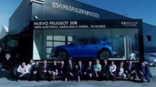 El nuevo 208 en Zaragoza con Peugeot PSA Retail, tu concesionario oficial Peugeot
