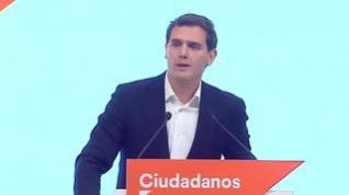 Rivera anuncia su dimisión como presidente de Ciudadanos y deja la vida política