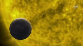 El espectacular tránsito de Mercurio delante del Sol