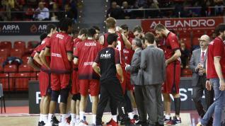 Casademont-Dijon, partido de la Basketbal Champions League.