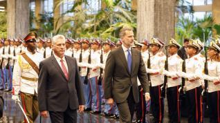 Visita de los Reyes a Cuba