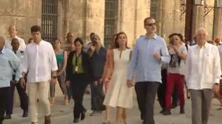 Así  fue el primer día de la histórica visita de los Reyes a Cuba