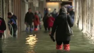Graves inundaciones en Venecia por las intensas lluvias