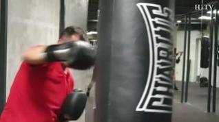 El boxeo, un deporte de moda en Zaragoza