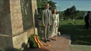 Los Reyes cierran su viaje a Cuba con un homenaje a los españoles caídos en 1898